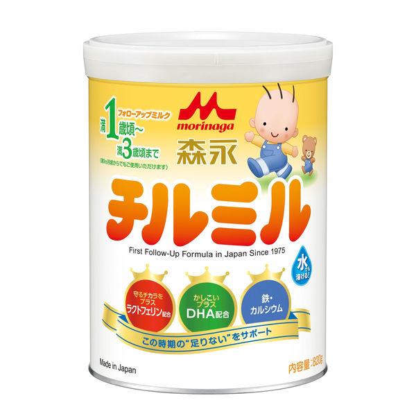 森永 チルミル 大缶 820g 1缶