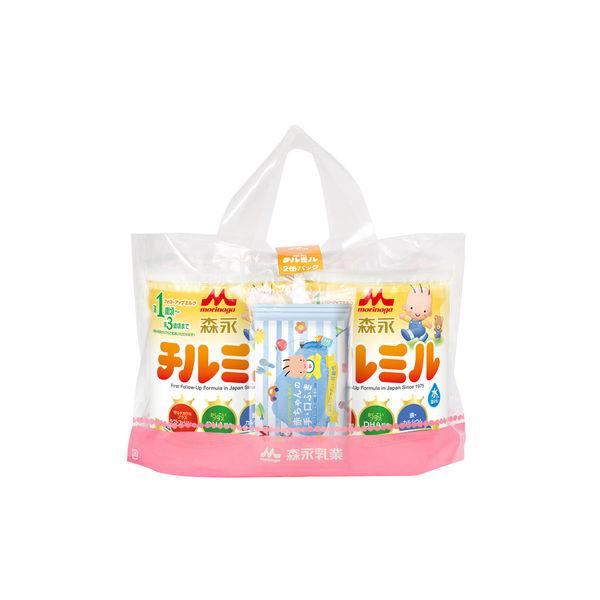 森永 チルミル大缶 820g×2缶パック
