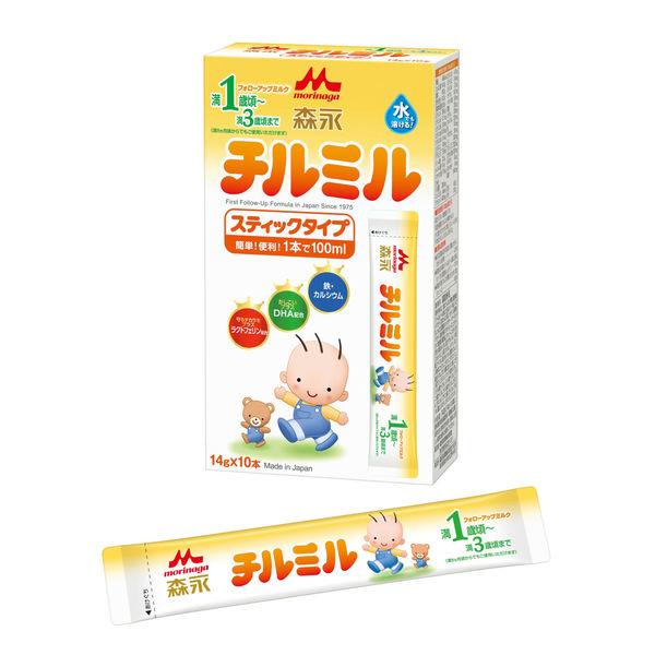 森永 チルミル スティックタイプ 3箱