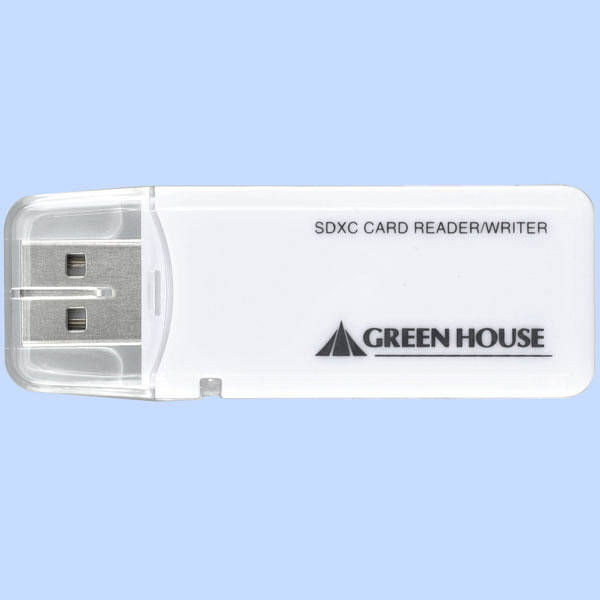 グリーンハウス SD用カードリーダー