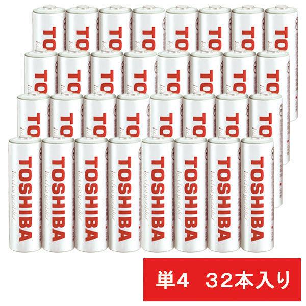 東芝 ニッケル水素電池 TNH-4WB4P 1セット(32本)