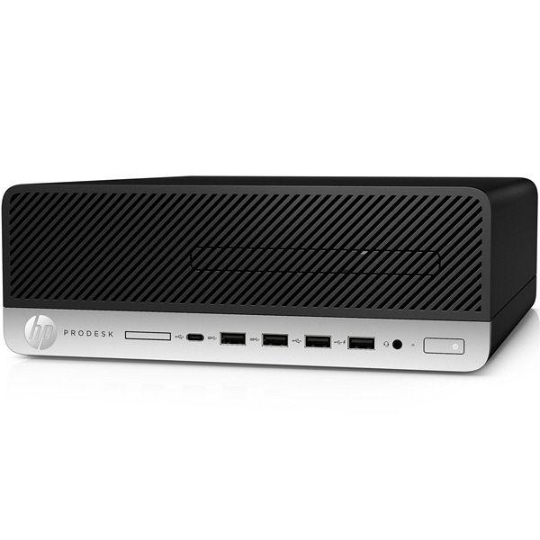 HP(ヒューレット・パッカード) 600G3 SF i3ー7100/4.0/500m/W10P/O2K16/e 4AM95PC#ABJ 1台  (直送品)