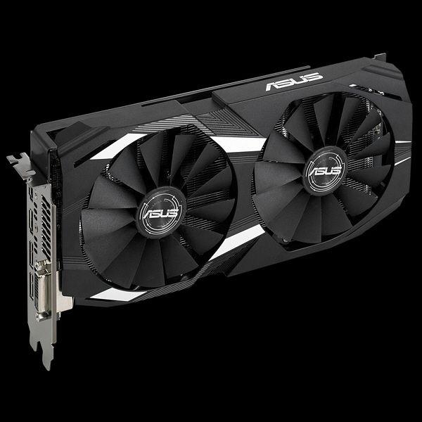 ASUS DUALシリーズ AMD Radeon RX 580 デュアルファン搭載ビデオカード DUAL-RX580-O8G 1台  (直送品)