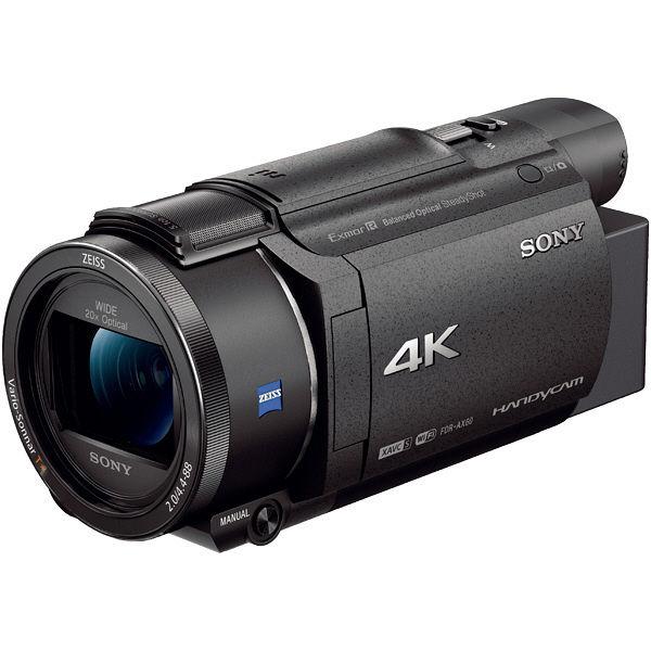 ソニー デジタル4Kビデオカメラレコーダー Handycam AX60 ブラック FDR-AX60/B 1台  (直送品)