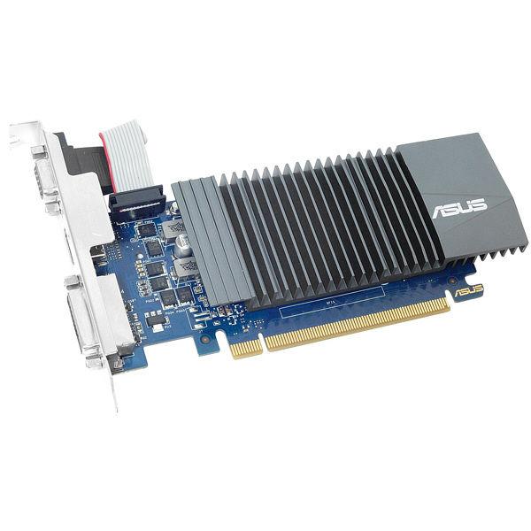 ASUS NVIDIA GeForce GT 710搭載ビデオカード ロープロファイル対応 GT710-SL-2GD5-BRK 1台  (直送品)