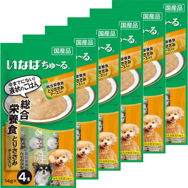 チャオちゅ~るささみチーズ犬用×6本