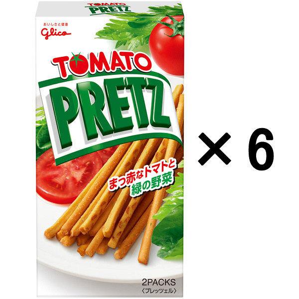 グリコ トマトプリッツ 60g 6個