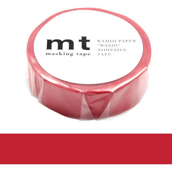 マスキングテープ mt レッド