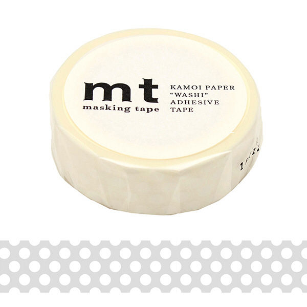 マスキングテープ mt ドット ホワイト