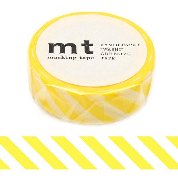 マスキングテープ mt ストライプレモン