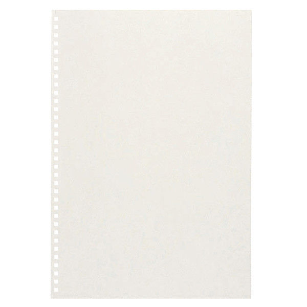 カール事務器 ダブルループリング製本カバーハード ホワイト TW-61-W 5袋(25枚入)(直送品)