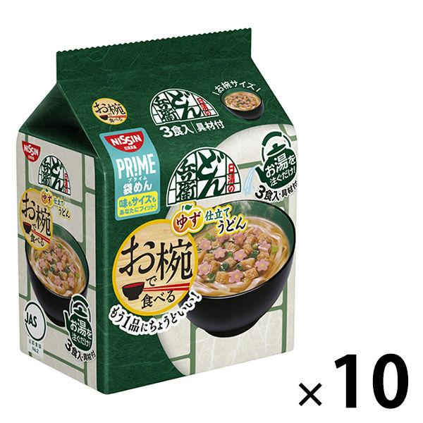 日清お椀で食べるどん兵衛3食×10個