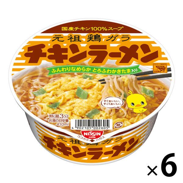 日清チキンラーメンどんぶり(6個入り)