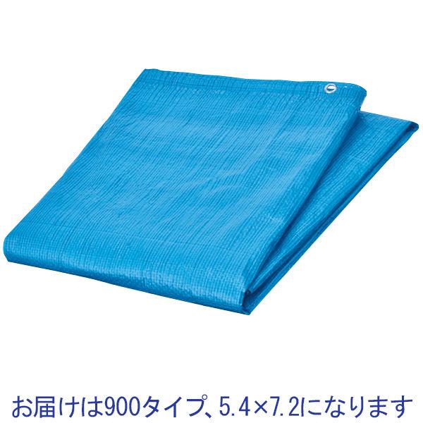 ブルーシート900薄手5.4×7.2m