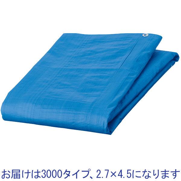ブルーシート3000厚手2.7×4.5m