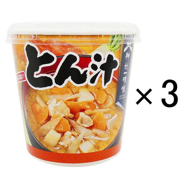 神州一味噌 おいしいね!! とん汁 3個