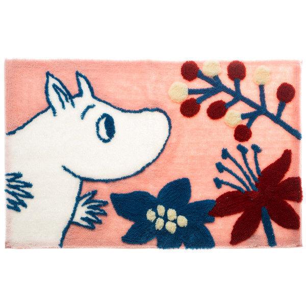 ムーミンフックマット「花を探しに」