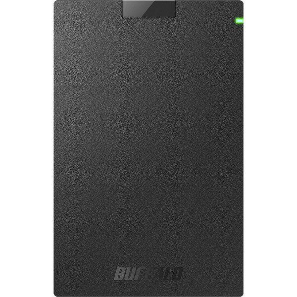 ミニステーション USB3.1(Gen.1)対応 ポータブルHDD スタンダードモデル ブラック 2TB HD-PCG2.0U3-GBA  (直送品)