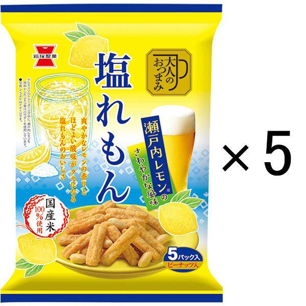 岩塚製菓 大人のおつまみ塩れもん 5袋