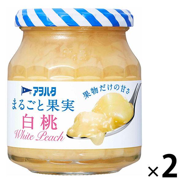 まるごと果実 白桃 250g 2個
