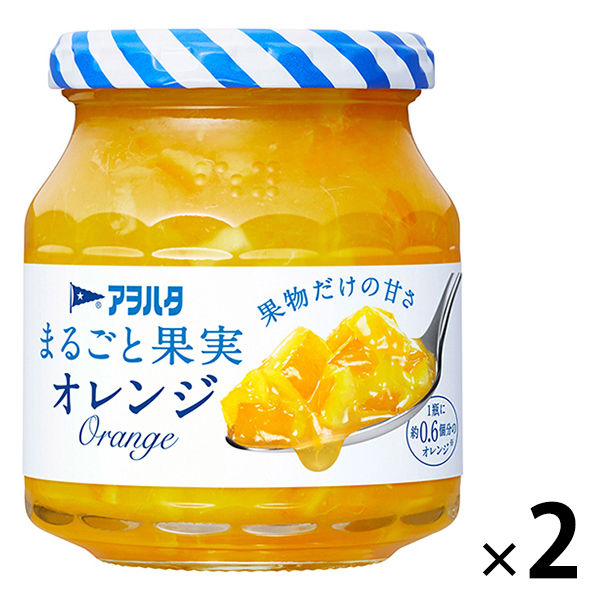 まるごと果実 オレンジ 250g 2個