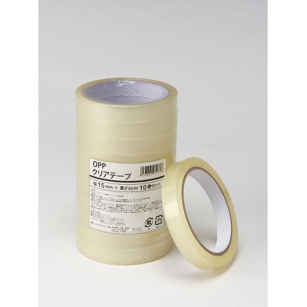 伊藤忠リーテイルリンク OPPクリアテープ 15mm×50m IRL-CT03 1箱(200巻:10巻入×20パック)