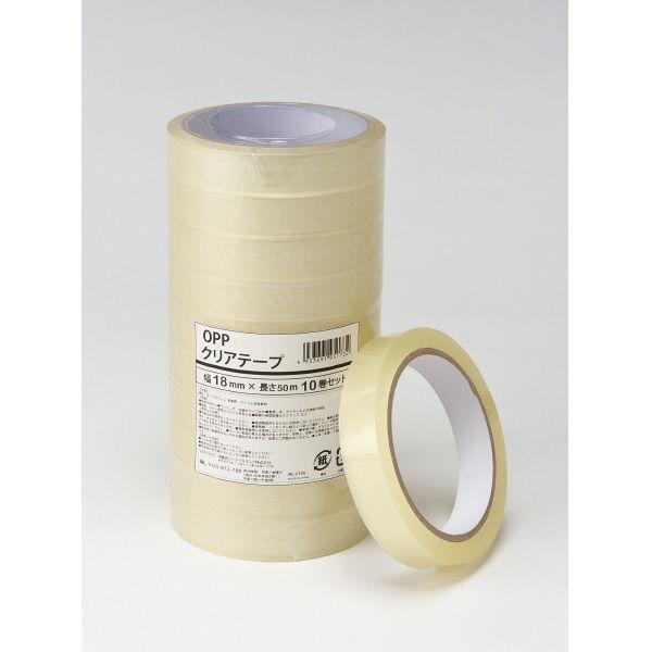 伊藤忠リーテイルリンク OPPクリアテープ 18mm×50m IRL-CT04 1箱(200巻:10巻入×20パック)