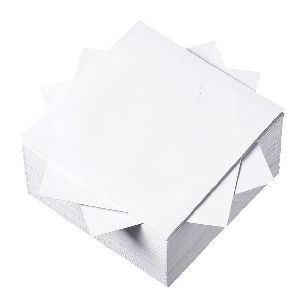 サンワサプライ DVD・CDペーパースリーブケース(窓なしタイプ・100枚入り) 1袋(100枚入り) (直送品)