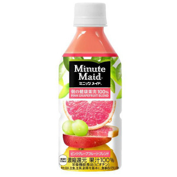 LOHACO - コカ・コーラ ミニッツメイド 朝の健康果実 ピンク ...