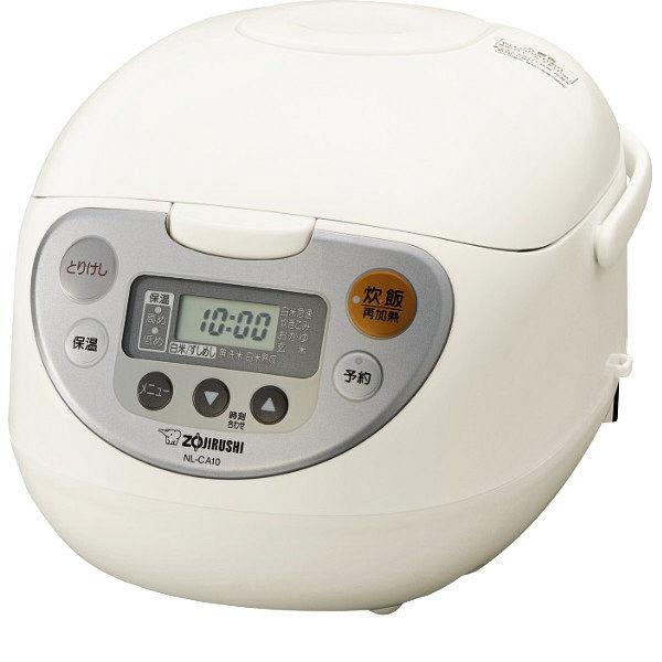 象印 マイコン炊飯器NL-CA10-WA