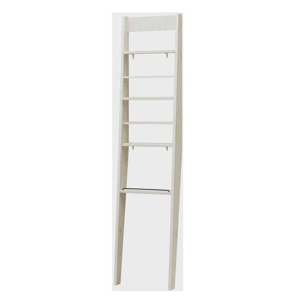 14b61fa0c2 白井産業 トイコス 壁掛けディスプレイラック(壁固定式) 白木目 幅444×
