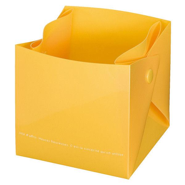 ヘッズ ミルキーポップキューブPPカップ-イエロー(200枚) BAY-PBM 1セット(200枚:20枚×10パック)(直送品)