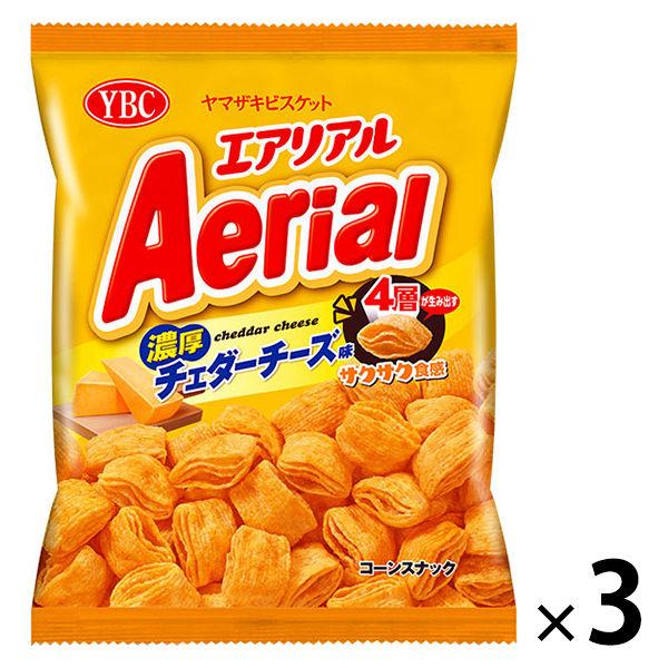 エアリアル 濃厚チェダーチーズ味 3袋