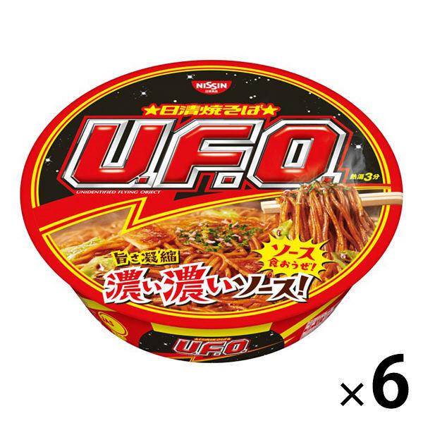 日清焼きそばUFO 6食