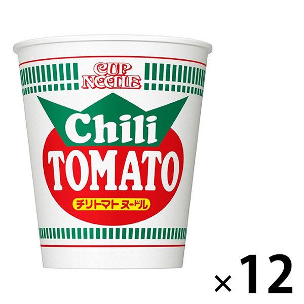 カップヌードルチリトマトヌードル 12個