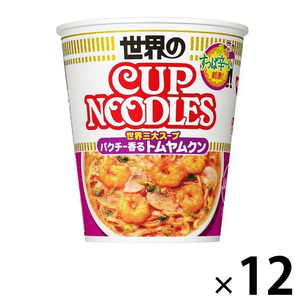 日清 トムヤムクンヌードル 12食