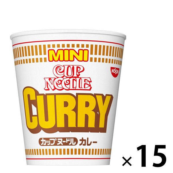 カップヌードル カレー ミニ 15食