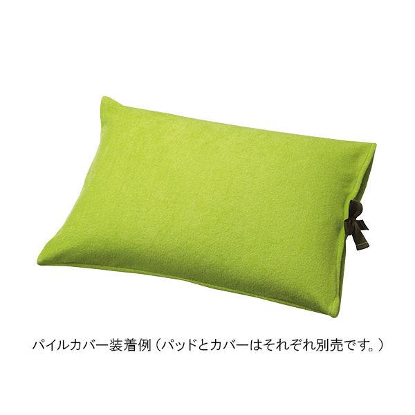 松本ナース産業 ウォッシャブルパッド 枕型II・III用パイルカバー 601C 1個 7-2181-11(直送品)