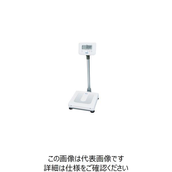 大和製衡 デジタル体重計(検定付) 一体型 DP-7900PW 1台 7-2901-01(直送品)