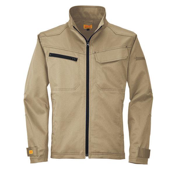 ビッグボーン商事 SMART WORK WEAR SW107 メンズフィールドジャケット マッドブラン 4L (取寄品)