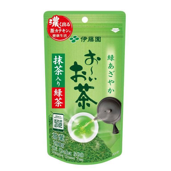 お~いお茶 抹茶入り緑茶 100g
