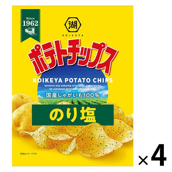 ポテトチップス のり塩 4袋