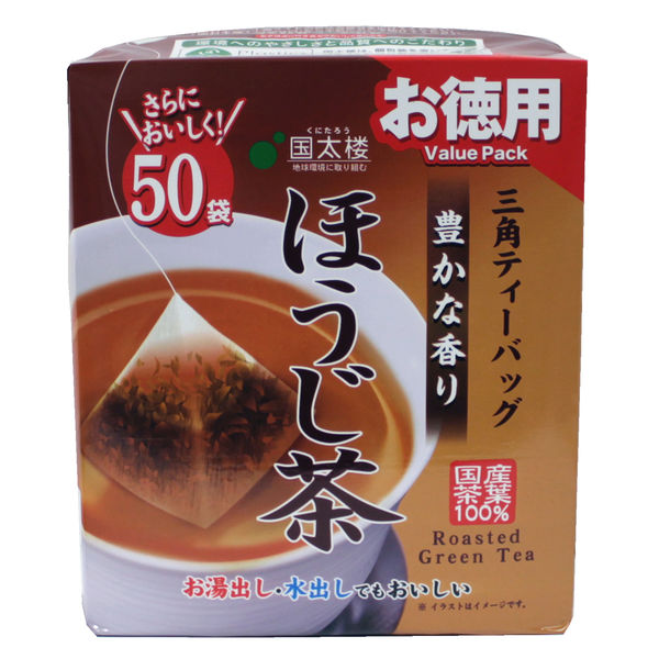 テトラバッグお徳用ほうじ茶 1袋