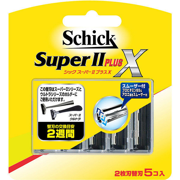 シック スーパーIIプラスX 替刃5個