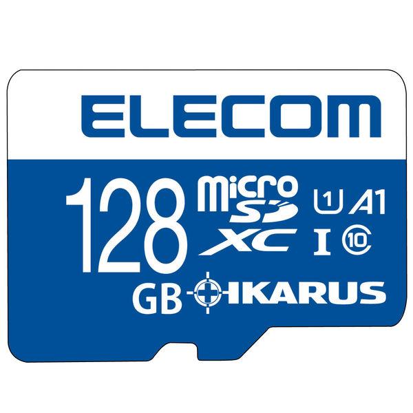 エレコム MicroSDXCカード/IKARUS付/UHS-I U1 128GB MF-MS128GU11IKA 1個(直送品)