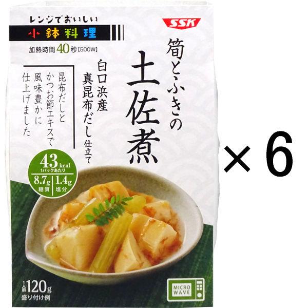 筍とふきの土佐煮 120g 6個