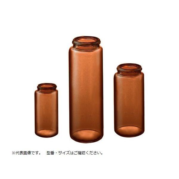 マルエム サンプル管 No.4 褐色 本体のみ 50本 14.0mL 61-0146-67 1箱(50本)(直送品)