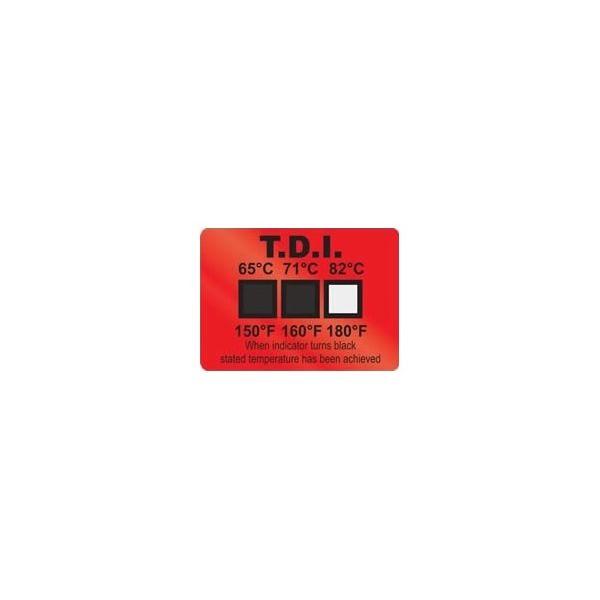 アイピー技研(IPL) 食器洗浄機用ヒートラベル 25枚入 TDI65-82 1ケース(25枚) 62-4861-27(直送品)