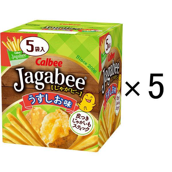 Jagabeeうすしお味 80g 5個