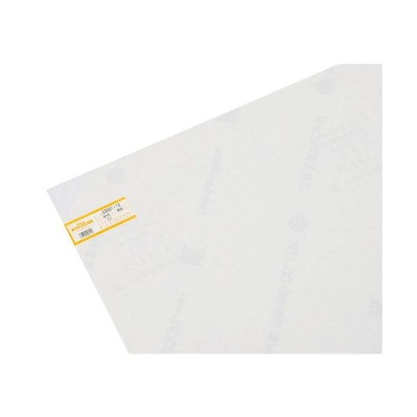 光(ヒカリ) 塩ビ板 1×910×900mm 乳半 EB991-12 1枚 61-7438-24(直送品)